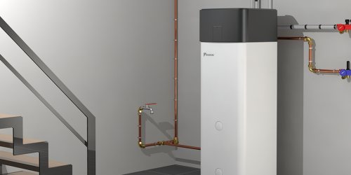 Domestic hot water heatpump